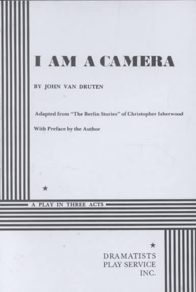 I Am a Camera By Van Druten, John